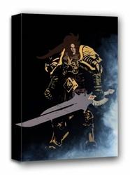 Blizzardverse stencils, varian, the king of alliance, warcraft - obraz na płótnie