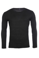 Sweter - czarny 27005-1