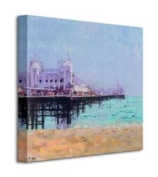 Brighton pier - obraz na płótnie