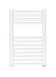 Grzejnik łazienkowy york v - wykończenie proste, 400x600, białyral