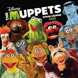 The Muppets - kalendarz 2018