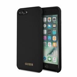 GUESS Etui hardcase GUHCI8LLSGLBK iPhone 78 Plus czarny Silicone