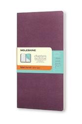 Notes Moleskine Chapters Journal M purpurowy w linie
