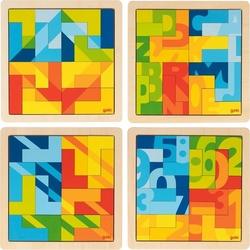 Puzzle geometryczne Goki - Puzzle L