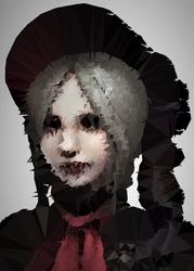 Polyamory - plain doll, bloodborne - plakat wymiar do wyboru: 21x29,7 cm