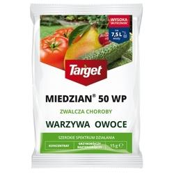 Miedzian 50 wp – zwalcza choroby warzyw i owoców – 15 g target