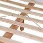 Łóżko drewniane nico 140x200 białe