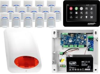Zestaw alarmowy ropam neogsm-ip 15 x czujka bosch manipulator dotykowy tpr-4bs wifi gsm
