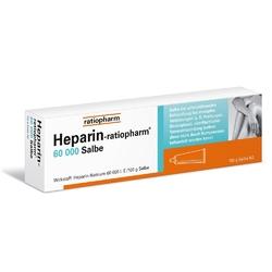 Heparin ratiopharm 60 000 maść