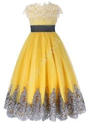 Wyjątkowa sukienka dziewczęca, eleganckie kreacje dla dziewczynek