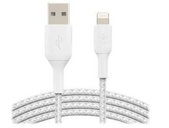 Belkin kabel usb- lightning braided  3m biały