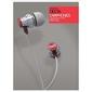Brainwavz delta z mikrofonem kolor: czerwony