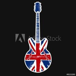 Tapeta ścienna brytyjski rock n roll