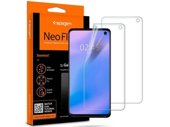 2x folia spigen neo flex hd samsung galaxy s10 case friendly