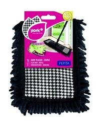 York, pepita, wkład zapas do mopa z mikrofibry, płaski, 1 sztuka