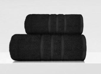 Ręcznik frotex b2b czarny - czarny