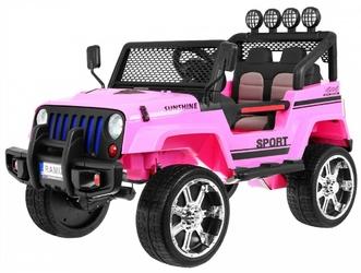 Raptor Drifter 4x4 Różowy Dwuosobowe auto na akumulator + PILOT