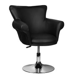 Fotel gracja czarny