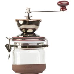 Młynek do kawy ręczny z pojemnikiem Hario Canister CMHN-4