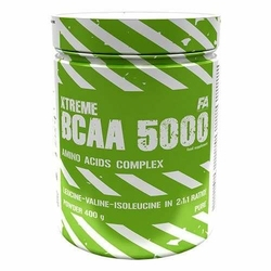 FITNESS AUTHORITY Xtreme BCAA 5000 - 400g - Raspberry