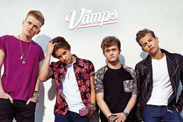 The vamps band wall - plakat