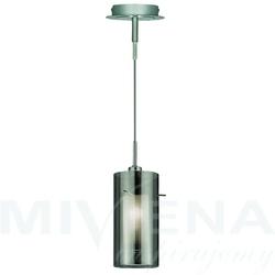 Duo 2 lampa wisząca przydymiony