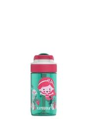 Butelka dla dziecka kambukka lagoon 400 ml - syrenka - zielony