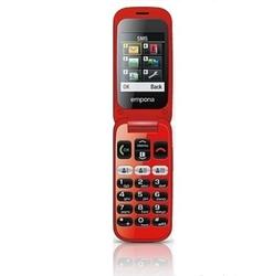 Emporia telefon one v200 czarno-czerwony