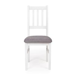 Krzesło tapicerowane duny ii białeszare
