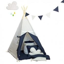 Namiot tipi dla dziecka wieczorna baśń - zestaw maxi