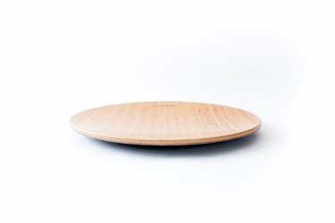 Deska do balansowania 360 bamboo z filcem, baby mouse, wobbel - baby mouse-bamboo