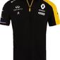 Koszulka polo renault f1 replica 2019 czarna - czarny