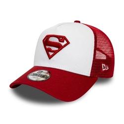 Czapka z daszkiem dziecięca bejsbolowa new era superman kids white a-frame trucker - 12040464