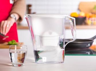 Dzbanek filtrujący wodę aquaphor aquaplus b100-25 maxfor biały + wkład
