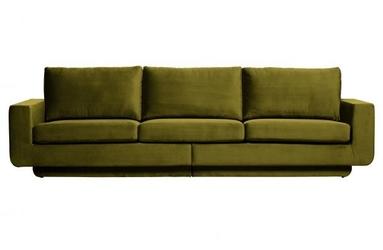 Be pure sofa 3-osobowa fame aksamit oliwkowy 800093-53