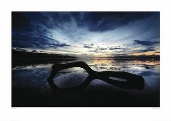 Kompozycja na plaży - reprodukcja