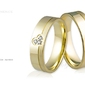 Obrączki ślubne - wzór au-860
