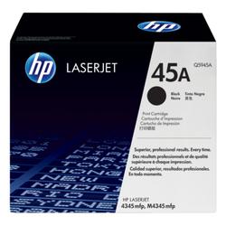 HP 45A oryginalny wkład z czarnym tonerem LaserJet