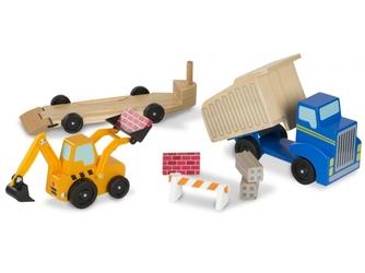 POJAZDY BUDOWLANE drewniane maszyny