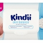 Cleanic, Kindii, Skin Balance, chusteczki nawilżane dla niemowląt i dzieci, 100 sztuk