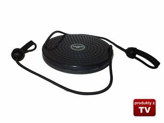 Twister obrotowy z linkami - Czarny