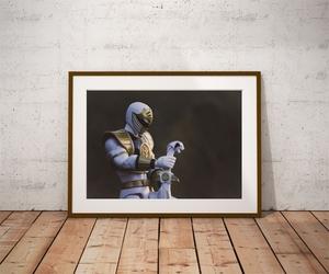 Power rangers white ver1 - plakat wymiar do wyboru: 50x40 cm