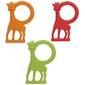 Gryzak waniliowy żyrafa sophie - czerwony