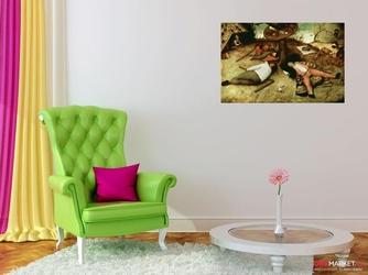 kraina szczęśliwości - pieter brueghel starszy  ; obraz - reprodukcja