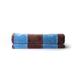 Hk living :: pled velvet niebieski