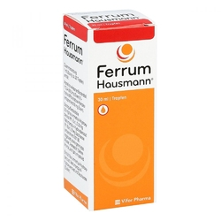 Ferrum hausmann 50mg żelazaml roztworu