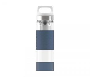 Termos szklany sigg wmb z zaparzaczem hot amp; cold glass 400 ml midnight