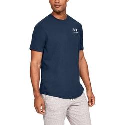Koszulka męska under armour sportstyle essential tee - granatowy