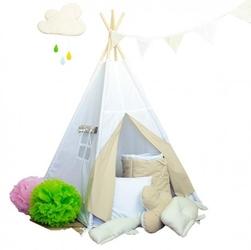 Namiot tipi dla dziecka pustynne safari - zestaw mini