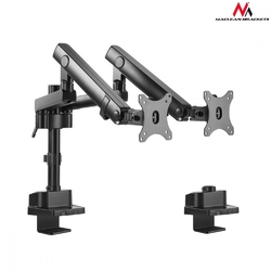 Maclean uchwyt biurkowy na 2 monitory mc-812